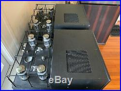 Rogue Audio M-180 M180 DARK Monoblock Tube Amplifiers Stereophile A+ 180 200 wpc