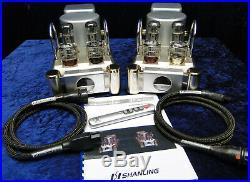 Röhren Verstärker SHANLING SP-80 Dual Monoblock Röhrenendstufen Tube Amplifier