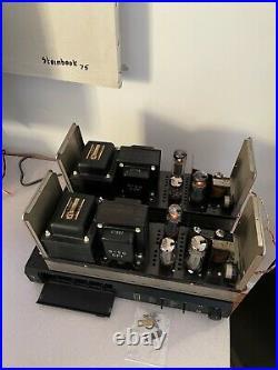 Sansui Q-50 Tube Amplifier Monoblock 50 Watt 120v