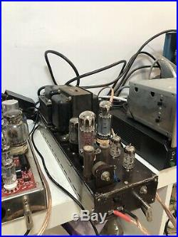 Sansui Q50 Tube Amplifier Monoblock