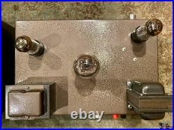 Single Ended 45 Tube Monoblock Amplifiers Built by Alan Eaton