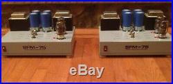 Sonic Frontiers SFM-75 Tube Power Amplifier Mono Blocks -75W