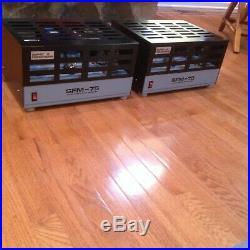 Sonic Frontiers SFM-75 Tube Power Amplifier Mono Blocks -75W (Quantity = two)