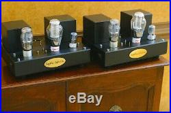 Sophia Electric 91-01 mono block 300B tube amplifiers Magical Sound! Western WE