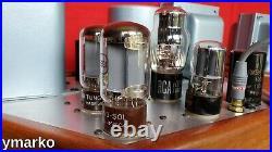 Stunning Mint pair of unique classic Mono Block vacuum tube Amplifier Monoblocks