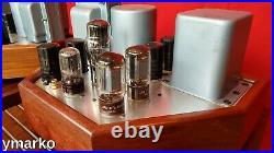 Stunning Mint pair of unique classic Mono Block vacuum tube Amplifier valve amp