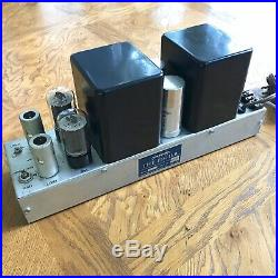 The Fisher 70AZ Monoblock Tube Amplifier with Z-Matic Control 1954 Made In USA