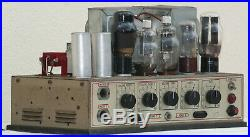 Tube amplifier Theatre power mono block 807 6L6 metal 1950's vintage guitar amp