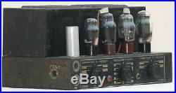 Tube amplifier power mono block 807 metal 1950's vintage stereo amp hifi Theatre