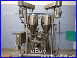 TurboFil Packaging Machines Monoblock Filler for Vials, Tubes and Small Bottles