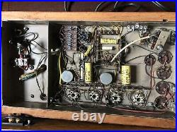 Two WEBSTER ELECTRIC Tube Amplifiers model WSA 230 -200withmonoblock
