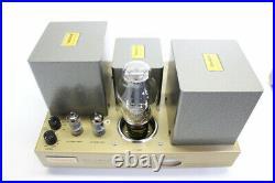 UESUGI U BROS 300 Monoblock Tube Power Amplifier Stereo PAIR 12W 100V USED JAPAN