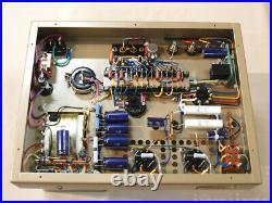 UESUGI UBROS-2011M Monoblock Power Amplifier PAIR GE Tube EL34 100V USED JAPAN