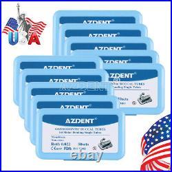 USA 10x Dental 1st Molar Roth. 022 Single Buccal Tube Monoblock Bondable Non-Conv