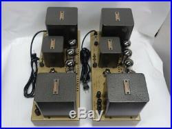 Uesugi U-BROS-23 Vacuum Tube Monoblock Power Amplifier PAIR 100V USED JAPAN RARE