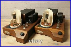 Unison Research SMART 845 Mono Block Röhren Verstärker Endstufen Tube Amplifier