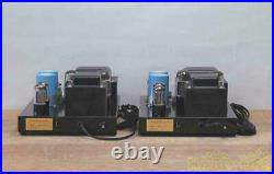 Used Quick Silver Mono Block Pair Power Amplifier Tube Coupling Capacitor Grid