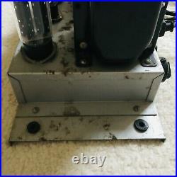 VINTAGE Organ 6L6 tube mono block Amplifier NO TEST (PART or REPAIR)