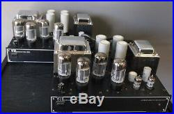 VTL Compact 100 tube mono block amplifiers- fully tested