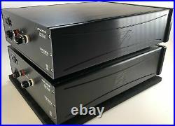 Veloce Audio Lithio Series Saetta Tube Monoblock Amplifiers Rare