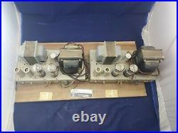 Very Rare Ampex 6L6 Monoblock Tube Amplifiers 25 watt Triad Transformers Hifi