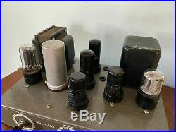 Vintage 1950's Heathkit Model A7 Monoblock Tube Amplifier Project Untested