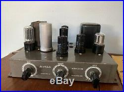 Vintage 1950s Heathkit Model A7 Monoblock Tube Amp Amplifier Project Untested