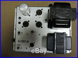 Vintage 6CA7/EL84 Mono Block Tube Amplifier Rodgers Organ Co. Model A-40-B 50W