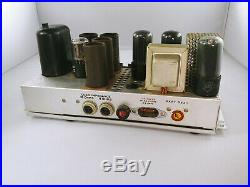 Vintage Bell & Howell Amplifier MonoBlock Tube Amp from Filmosound 179, 1 of 4