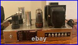 Vintage Craftsmen RC-2 Mono block Tube amplifiers Works RARE