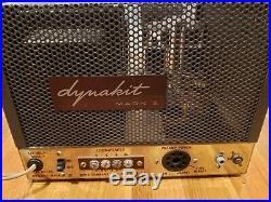 Vintage DYNAKIT MARK III Mono block tube amplifier