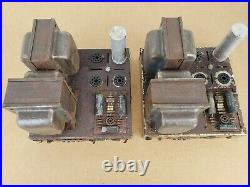Vintage Dynaco Dynakit Mark III Monoblock Tube Amplifiers AS-IS FOR PARTS