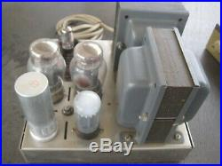 Vintage Dynaco Mark III / Dynakit MK3 Monoblock Amplifier with Tuner RCA TUBES
