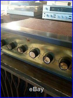 Vintage Grommes 55c Tube Amplifier jupiter capacitors rebuilt. MONO BLOCK#2
