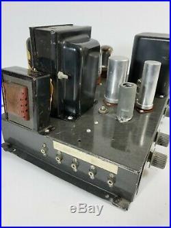 Vintage Heathkit A-9 A9 Mono Block Tube Amplifier