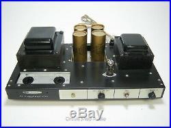 Vintage Heathkit AA-91 Monoblock Tube Amplfier with Cover / 6CA7 EL34 - KT1