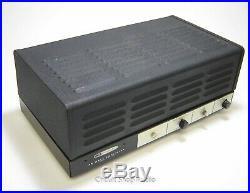 Vintage Heathkit AA-91 Monoblock Tube Amplfier with Cover / 6CA7 EL34 - KT2