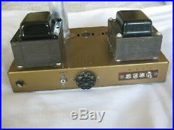 Vintage Heathkit Ua-1 Monoblock Tube Amplifier Transformers Tested Good