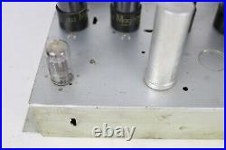Vintage Magnavox Monoblock Tube Amplifier Amp 128 D 4 x 6v6 Parts/Repair Only