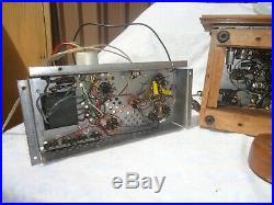 Vintage Marconi Mono Blocks Tube Amplifiers + Stereo Tuner Pre Amp 4410