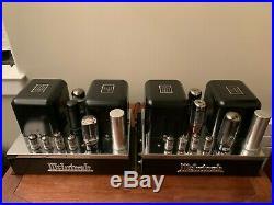 Vintage Mcintosh MC-30 Tube Mono Block Amplifier Stereo Pair MC-60 Family