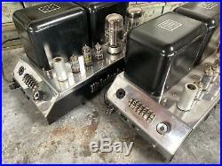 Vintage Mcintosh MC75 Tube Amplifiers Monoblock Hifi Audiophile Vinyl Stereo