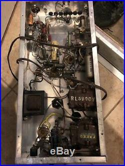 Vintage Mono Monoblock Tube Amplifier