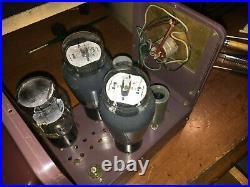 Vintage Mono blocks The Fisher Z Matic Model 80-AZ Tube Amplifiers Pair