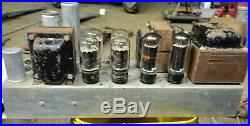 Vintage Monoblock Baldwin Tube Amplifier