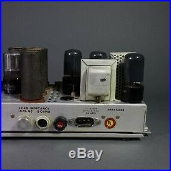 Vintage PP 25L6 MonoBlock Tube Amp from Filmosound 179, Amplifier Projecct
