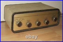 Vintage Philips M. B. L. E. MBLE Mono Block Tube Amplifier Belgium / Sold as is