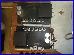Vintage Philips Mono Blocks Tube Amplifiers Ag 9008-52 Otl Type