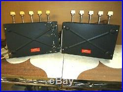 Vintage Phillips Otl Tube Amplifier Mono Blocks Ag-9008 Made In Holland