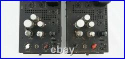 Vintage RCA MI-1356 Vacuum Tube Monoblock Amplifiers for PG-200 EQ
